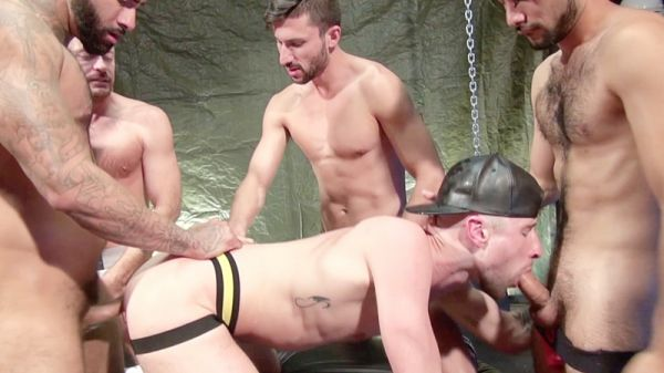 RFC – Drew Dixon Gang Bang Part 1