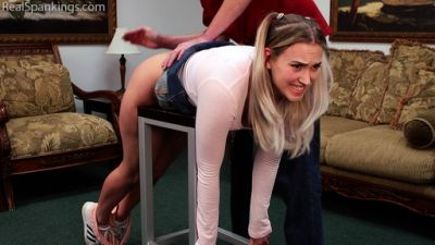 RealSpankings – Cara's Double Dose of Discipline (Part 1)