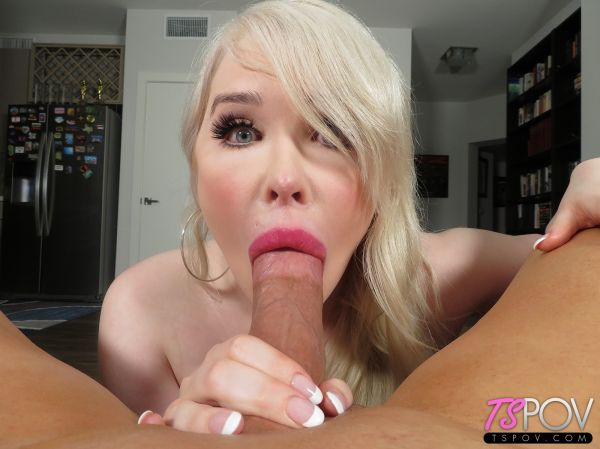 Sarina Valentina - Busty Blonde Goddess Swallows Your Dick (TSPOV.com/HD/2019)