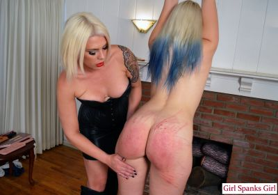 GirlSpanksGirl – Bella Punishes Dria Severely 2
