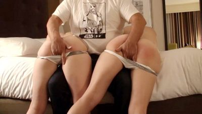 Spank and Pet with a Friend - Casey Calvert