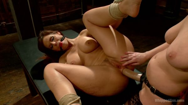 Cherry Torn and Syren de Mer - MILF librarian anal fucked into submission