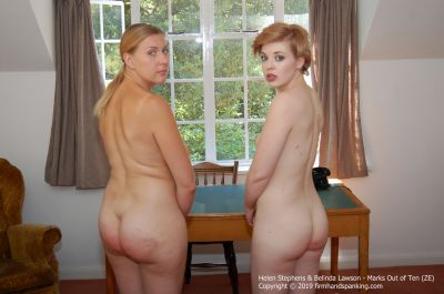 FirmHandSpanking - Marks Out of Ten - ZE - Belinda Lawson & Helen Stephens
