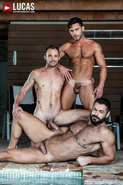 LE - Victor D'Angelo, Drake Rogers & Andy Star - Poolside Breeding