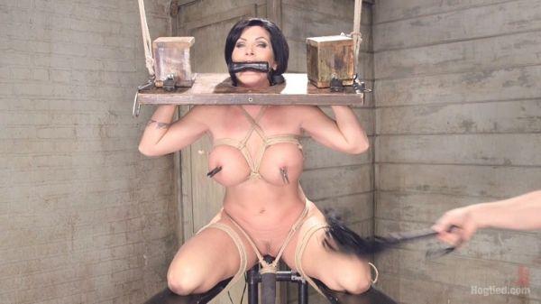 Shay Fox - Bound Huge Fake Tit MILF