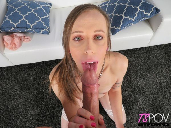 Kat Bella - Sucking It And Taking It Like A Champ (TSPOV.com/HD/2019)
