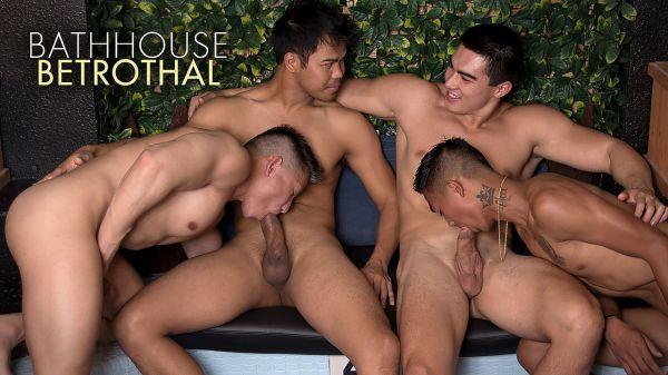 PF – Sexy Rich Gaysians 5, Bathhouse Betrothal – Jessie Lee, Alec Cruz, Axel Kane & John Rene