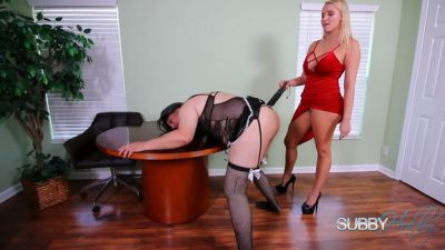 SubbyHubby – Becoming Vanessa's Servant Part 4: Paddling
