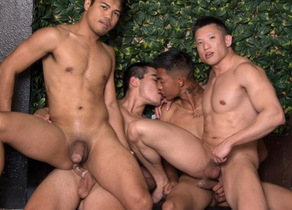 PF – Sexy Rich Gaysians 6 – Here Cum the Grooms – Alec Cruz, Axel Kane, Jessie Lee & John Rene