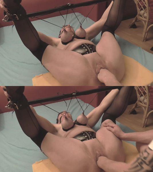 Amateur - Fisting orgasms in bondage [FullHD 1080p] (Sicflics)