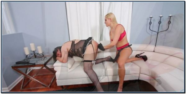 Becoming Vanessas Servant Part 5 - Ass Stretching Femdom Strapon Domination