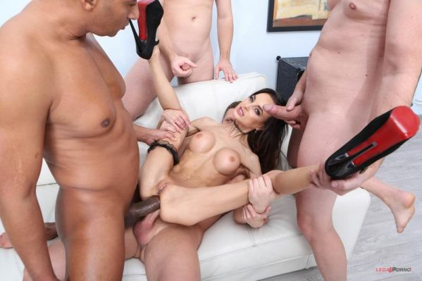 Aletta Black - DAP destination Aletta Black gets Balls Deep Anal, DP, DAP, Gapes, Swallow GIO936 [HD 720p] (LegalP0rno)