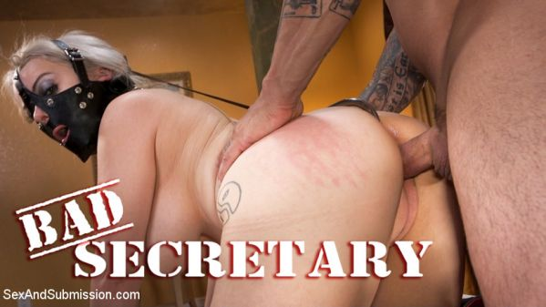 Nadia White - Bad Secretary: Newcomer Nadia White gets punished - 08.02.2019 (SD/2019) by SexAndSubmission.com