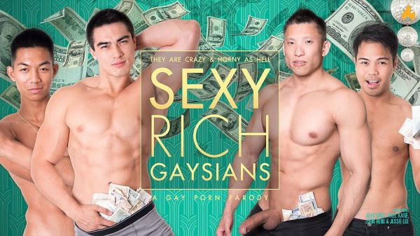 PF – Behind the Scenes – KINK and SEXY RICH GAYSIANS