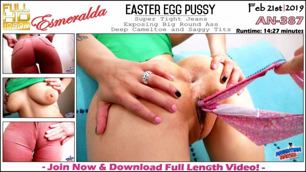 Esmeralda - Easter Egg Pussy - AN-387 (21.02.2019) [FullHD 1080p] (ArgentinaNaked)
