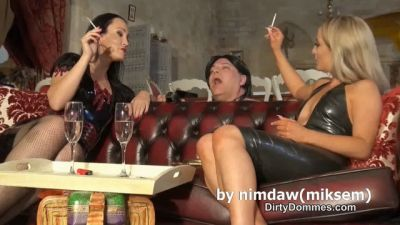 DirtyDommes – Nasty Human Ashtray