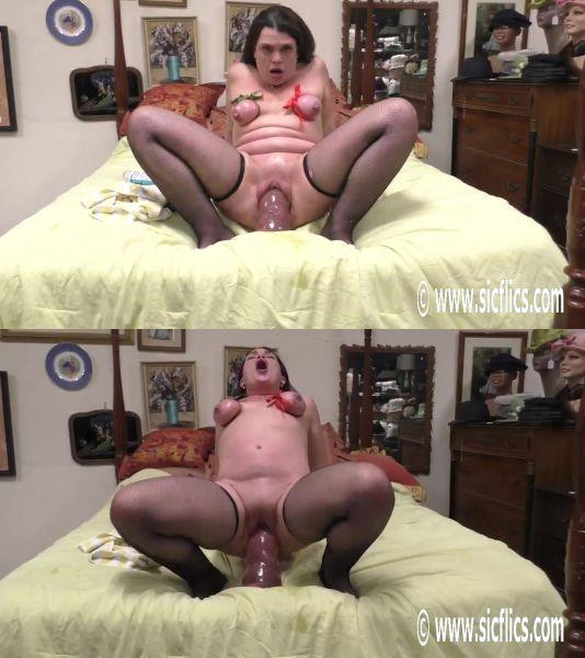 Sicflics - Tabby - Tabbys giant dildo orgasms (22.02.2019) [FullHD 1080p]