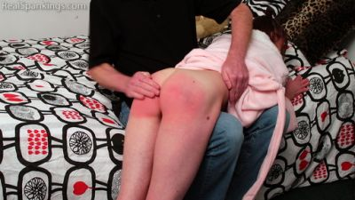 Real Spankings – Riley R's Bedroom Spanking
