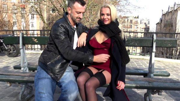 JacquieetMichelTV: Elisabeth - Elisabeth, 25ans, s'eclate a Montmartre - 03.03.2019 (FullHD/2019)