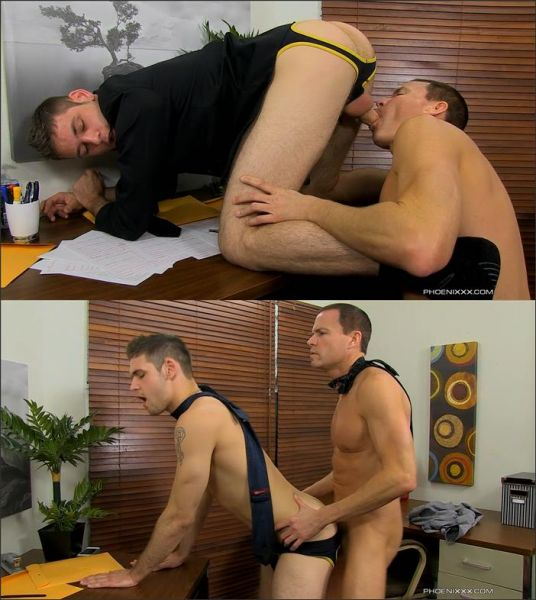 PX - Jason Sparks & Duncan Black - Duncan Gets Fucked In The Office