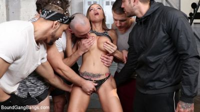 BoundGangBangs – Mar 6, 2019 – Britney Amber, Donny Sins, Codey Steele, Rob Piper, Stirling Cooper, Juan Lucho