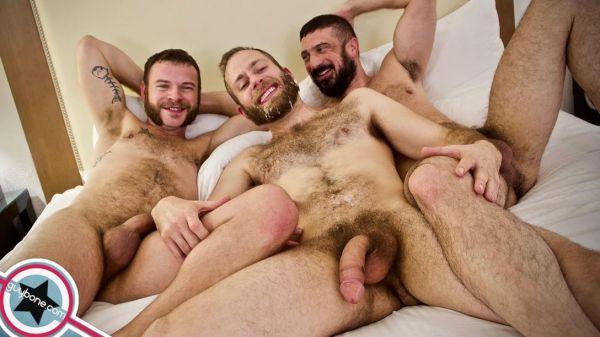 GB - Joel Someone, Marco Napoli, Parker Allen - Sex and the SuperFacial - Bareback