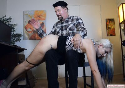 MySpankingRoommate - Episode 305: Naughty Model Dria Spanked hard by Mr. Ford