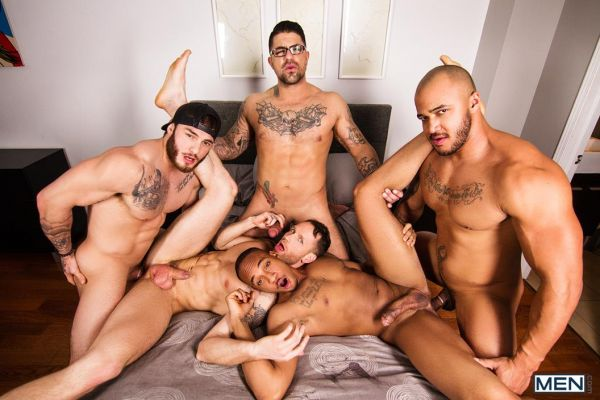 MEN – By Invitation Only – Jason Vario, Kit Cohen, Ryan Bones, Trent King & William Seed
