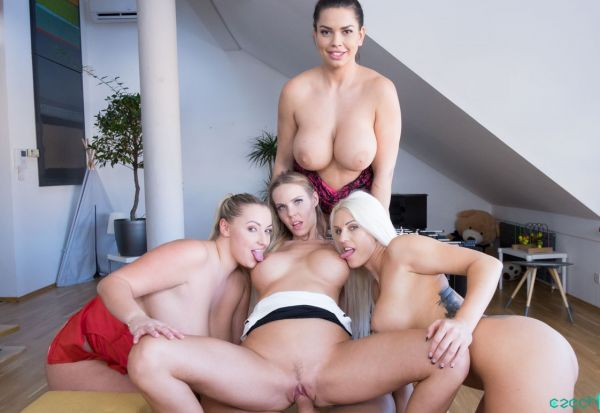 VR 270 - Fivesome with Huge Tits Oculus Rift