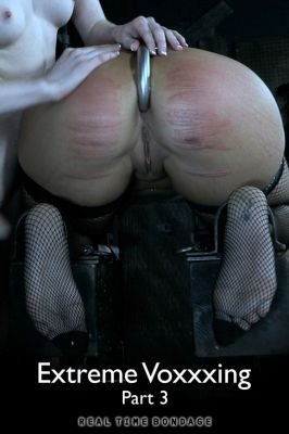 RealTimeBondage – Mar 2, 2019 – Extreme Voxxxing Part 3 | Victoria Voxxx