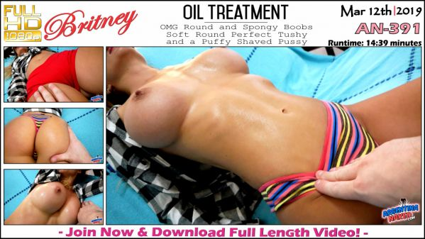 Britney - Oil Treatment - AN-391 (12.03.2019) [FullHD 1080p] (ArgentinaNaked)