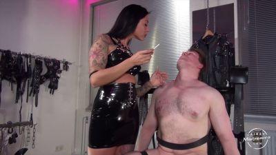 KinkyMistresses – 100 Slaps In The Face – Lady Cora
