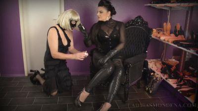 The Slutty Slave Dinner Part 1