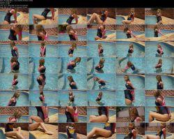 Mina - Pool Side (FullHD 1080p)