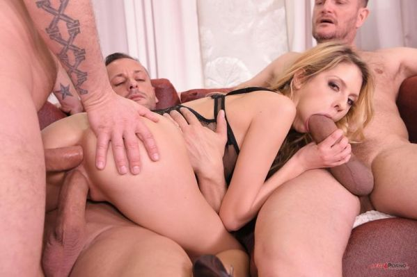 Rebecca Volpetti - Ultra Nympho Rebecca Volpetti gets the Anal Gangbang of her Dreams FS039 (HD/2019) by LegalP0rno.com