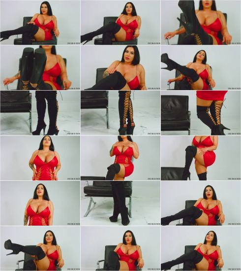 iW@ntClips: K0rina K0va - Boot Slave - 09.03.2019 (FullHD/2019)