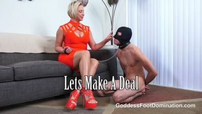 GoddessFootDomination – Let's Make A Deal – Goddess Brianna
