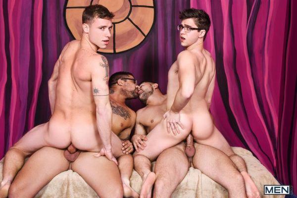 MN - Damien Stone, Justin Matthews, Ryan Bones, Will Braun - Men Bang Part 4