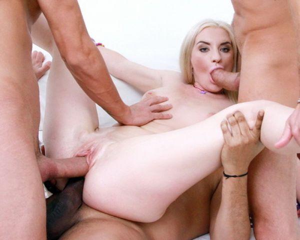 Anjela Vidal - Anjela Vidal anal fucked DPed by four huge cocks SZ2079 [HD 720p] (LegalP0rno)