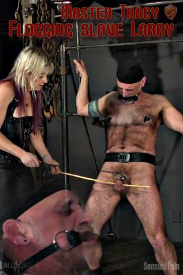 SensualPain – Mar 27, 2019: Flogging slave Larry | Larry