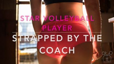 Star Volleyball Player Strapped by the Coach