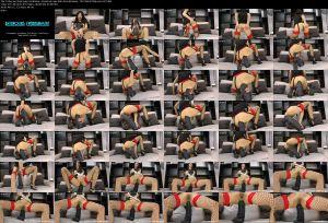 Hotkinkyjo - Seahorse huge dildo from Mrhankey (2018 / FullHD 1080p)