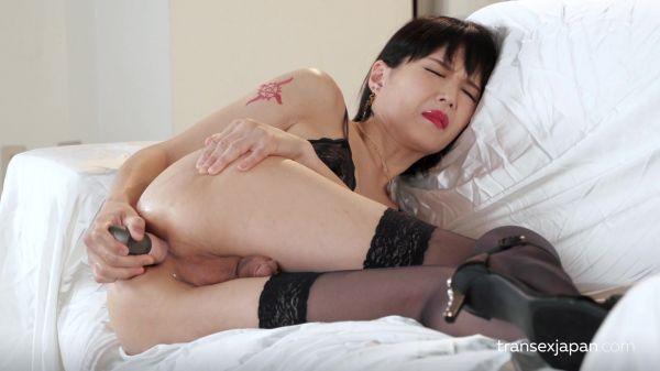 Yoko - Intense Anal Masturbation (TranSexJapan.com/FullHD/2019)