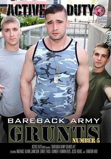 AD - Bareback Army Grunts vol 5