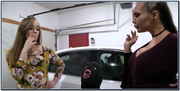 Sorority Girls Share Human Ashtray