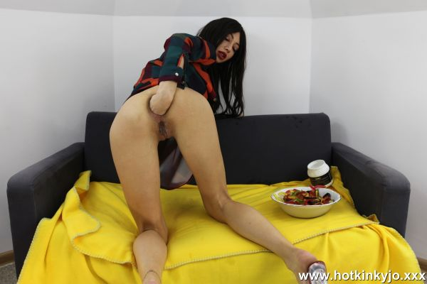HotKinkyJo.XXX: HotKinkyJo - Worms worms jelly worms (03.02.2019) (FullHD/2019)