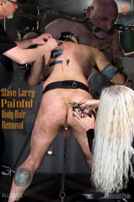 SensualPain – Apr 3, 2019: Painful Body Hair Removal | Larry