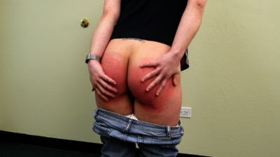 RealSpankings – Ten: Paddled for Smoking