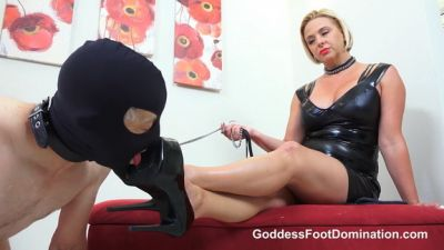 GoddessFootDomination – Can He Take It? – Goddess Brianna