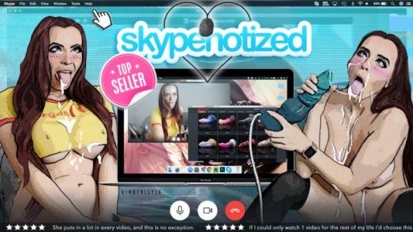 M@nyVids: KimberleyJx - Skypenotized - Ahegao and Bad Dragon (FullHD/2019)